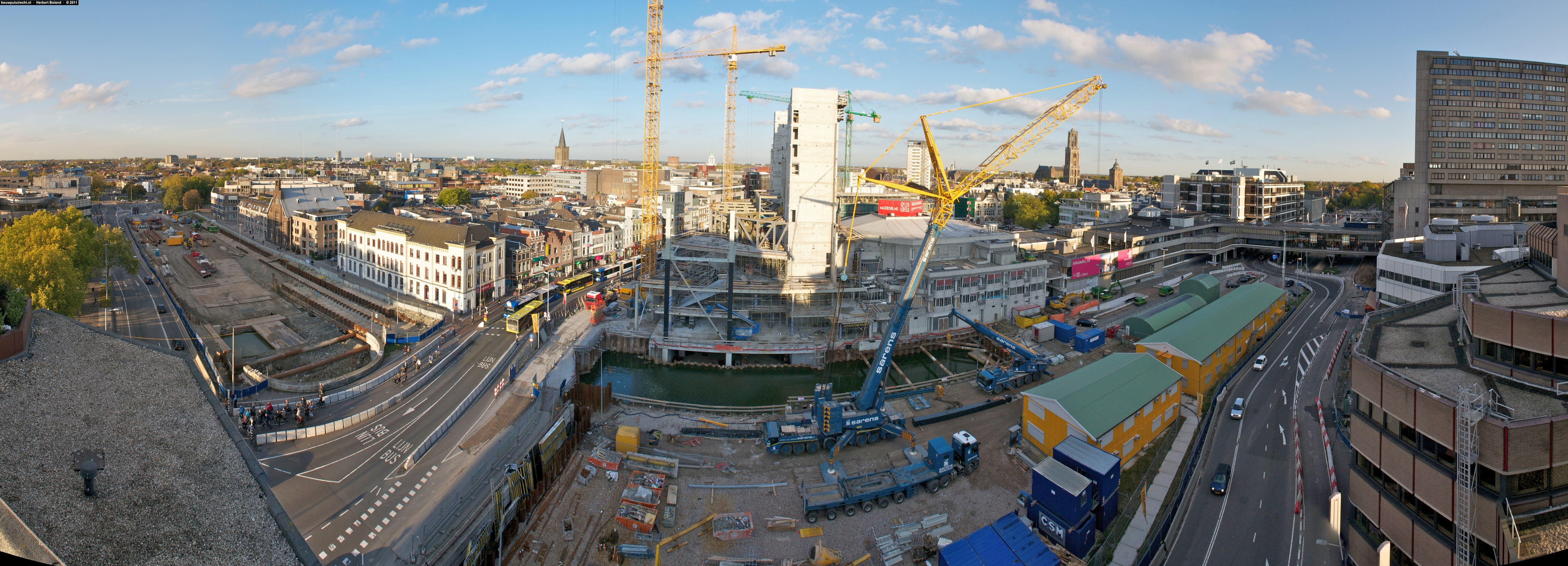 PanoramaMuziekpaleis_HBoland_BouwputUtrecht_okt2011