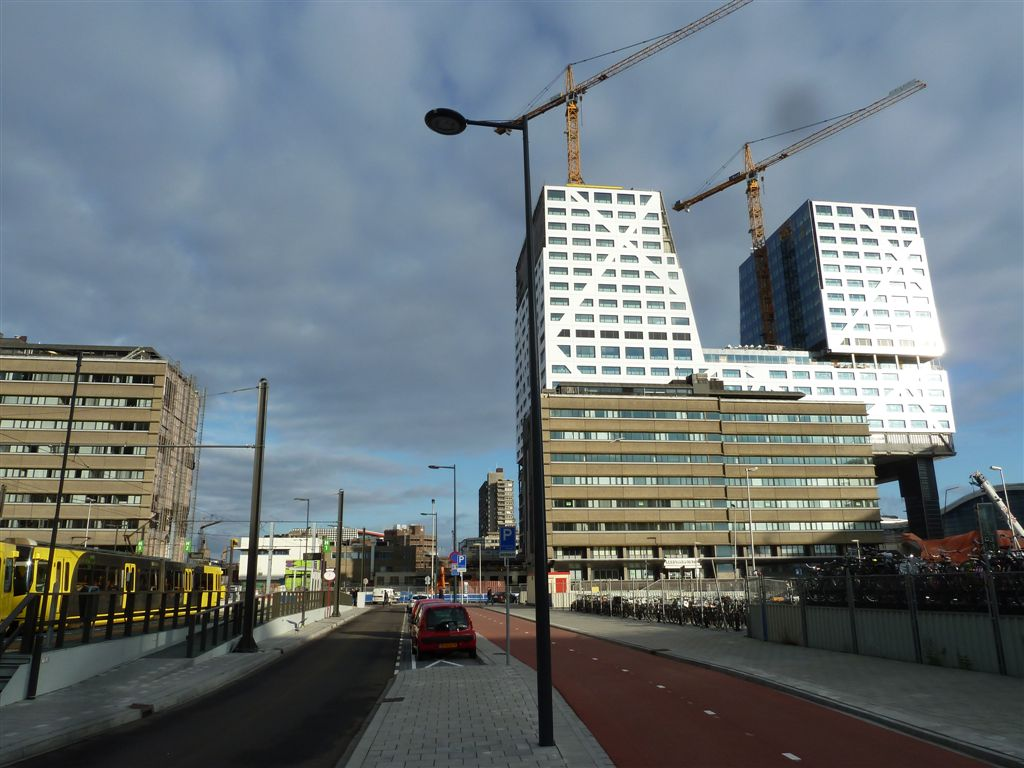 Doorkijkje richting TivoliVredenburg