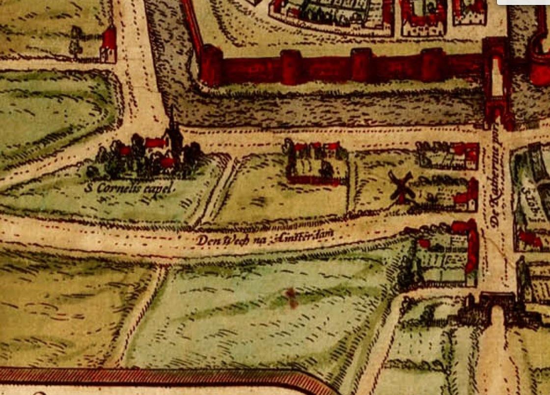 Buitengebied in de zestiende eeuw