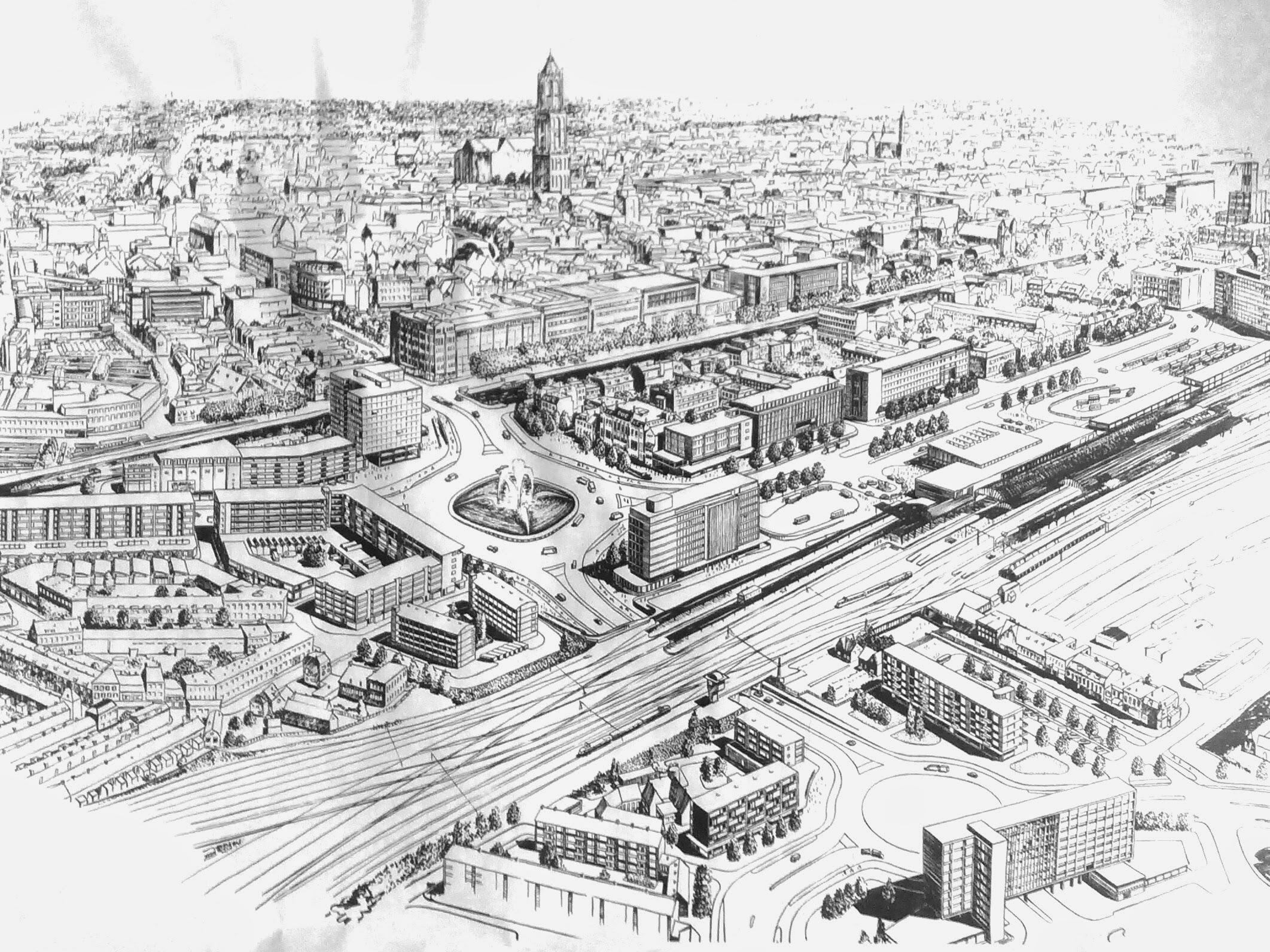 StationsgebiedFantasieCa1960