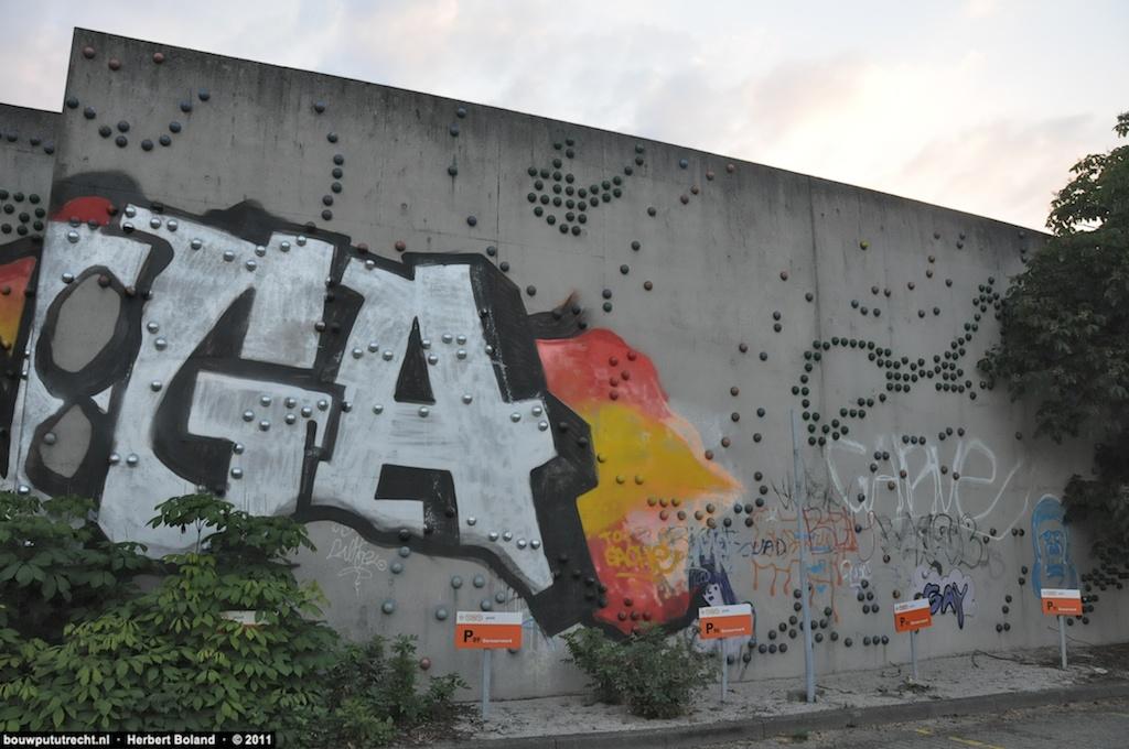 De muur van Peter Struijken