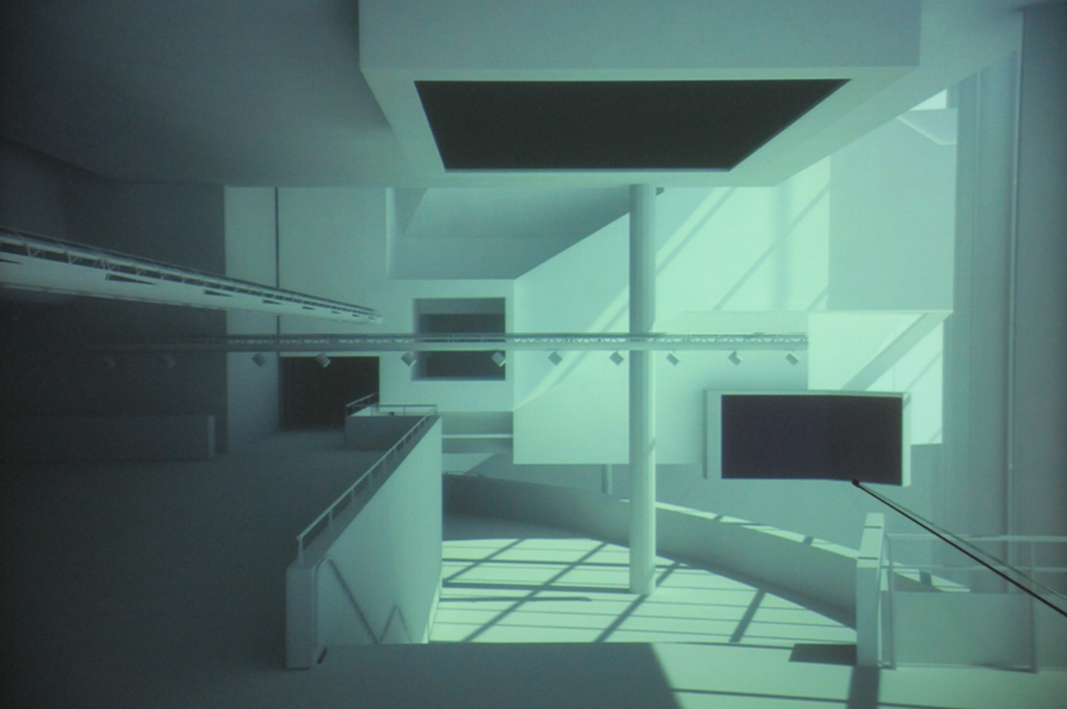 Aernout Mik projecteert 'zesde zaal' op groot scherm