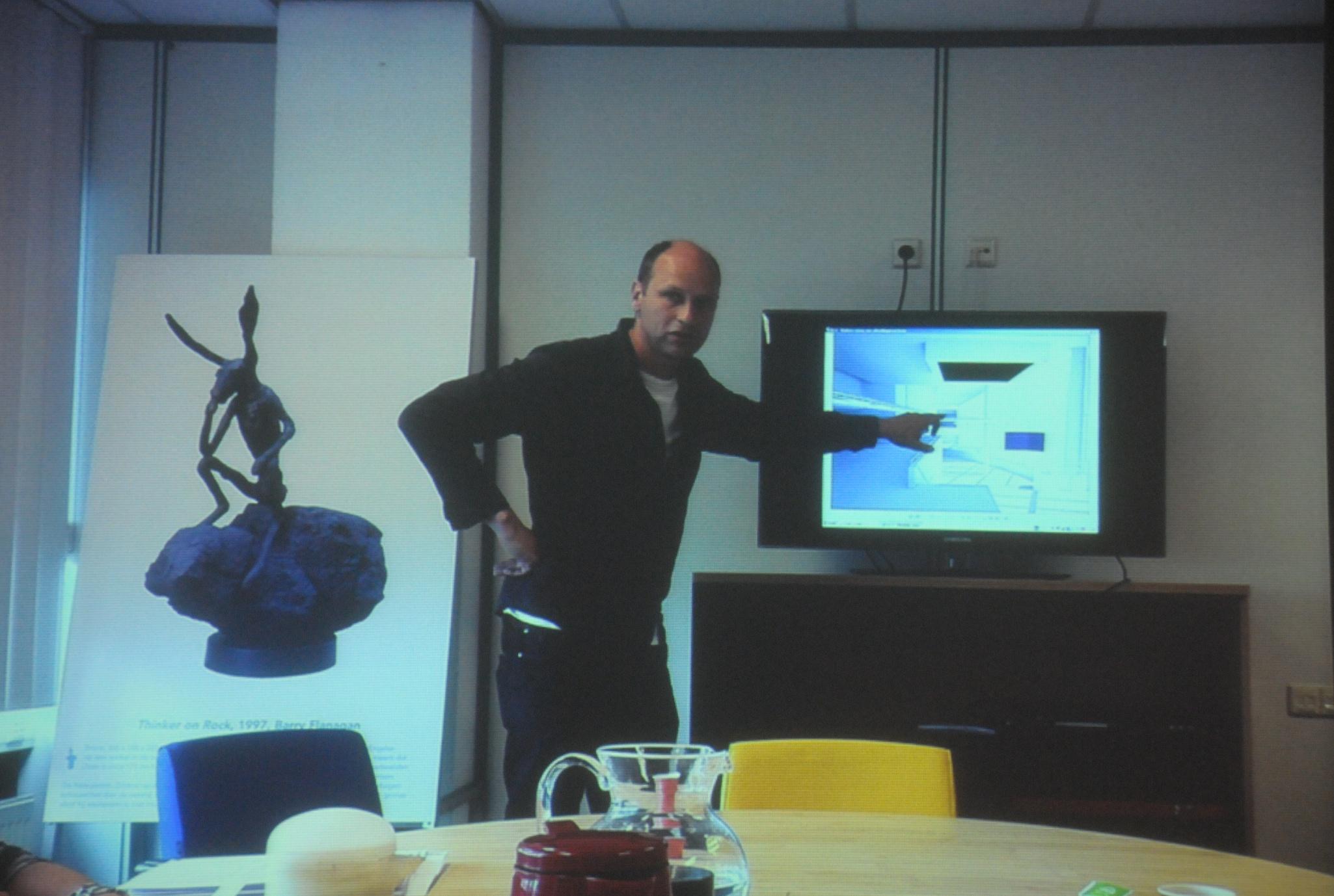 Aernout Mik presenteert plan