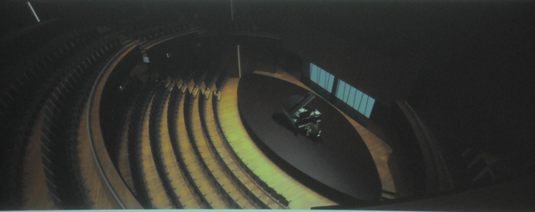 Hertzberger zelf is verantwoordelijk voor kamermuziekzaal