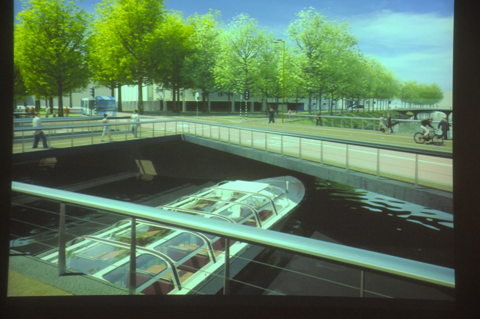 Vredenburgknoop vanaf brug