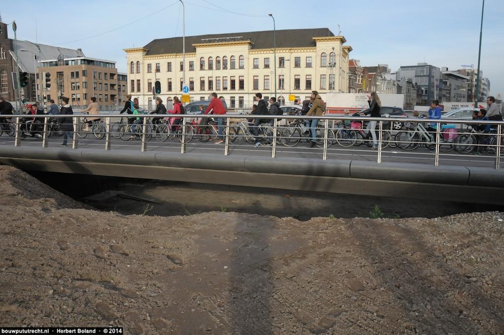 Nieuwe bruggen Vredenburg